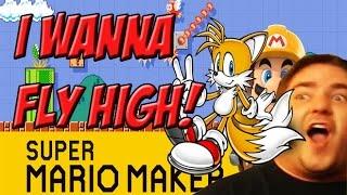Super Mario Maker! I WANNA FLY HIGH! - YoVideogames