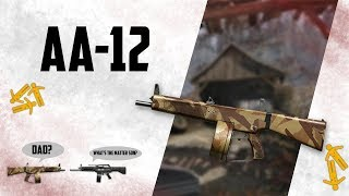 Warface AA-12 - The f2p version of the USAS-12 xD
