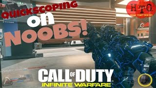 Stacking Bodies with Precision Sniping - Quickscoping on Call of Duty Infinite Warfare