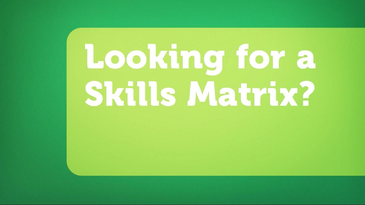 ability6® | Skills Matrix / Capability Matrix Software