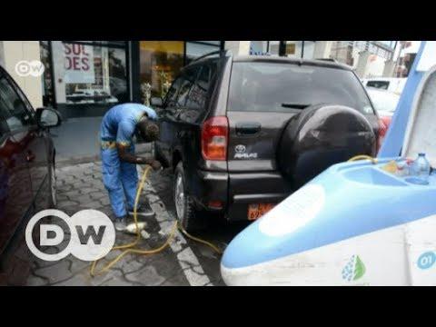 Cameroon's green car wash   DW English