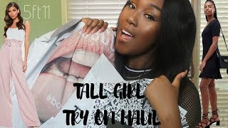 TALL GIRL TRIES EVERY TALL CLOTHING SECTION!!! NEW LOOK, ASOS, BOOHOO,   & MORE