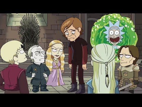 Rick & Morty DELETED SCENES! Game Of Thrones Parody & Storylines You Never Seen!