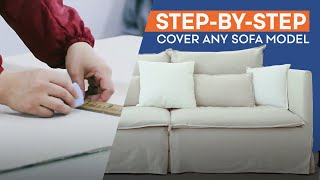 How to Make a Sofa Cover | Comfort Works Slipcovers