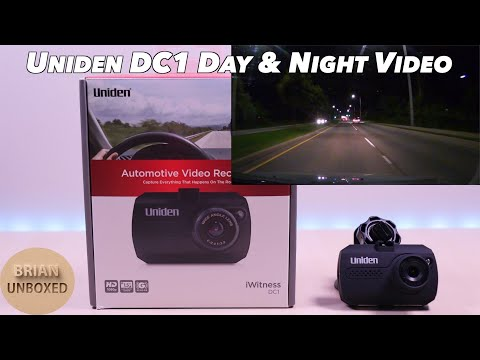 Uniden IWitness DC1 - Sample Video Day & Night