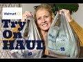 Walmart Fashion Haul & Try On || November 2018