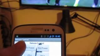 Bluetooth Tv remote control