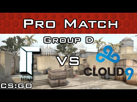 Titan vs Cloud9 from ESL One Cologne Group D