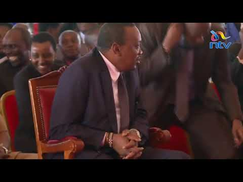 This lady couldn't believe she just shook President Kenyatta's hand
