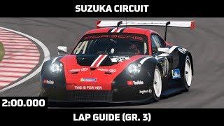 Gran Turismo Sport - Daily Race Lap Guide - Suzuka Circuit (Porsche 911 RSR Gr. 3)