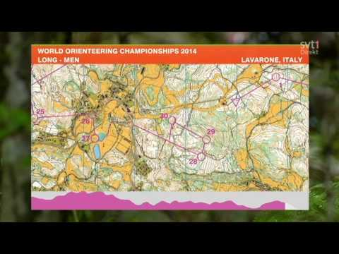 WOC 2014, Long distance 09.07.2014, Orienteering, Italy, Swedish language