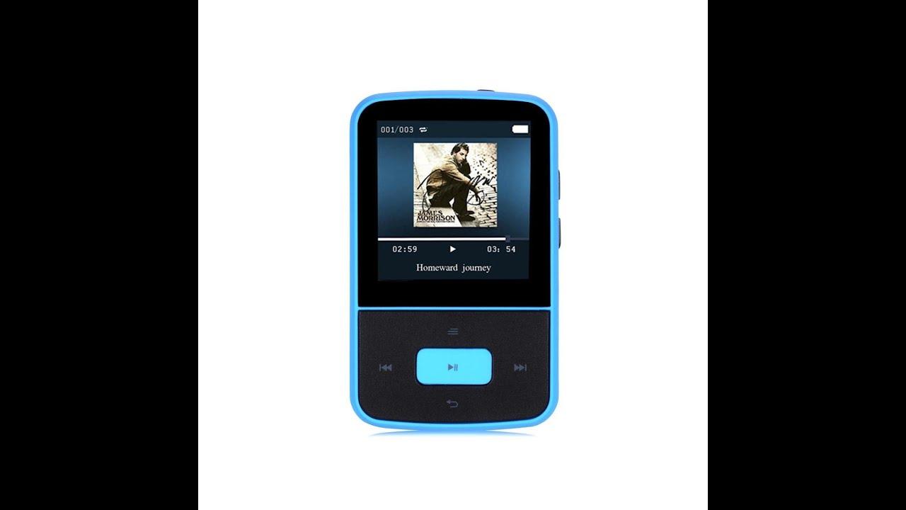 No Need Mp3 By Karan Aluja: AGPTek G05- Mini Clip Lettore MP3 8 GB Schermo TFT 1,5