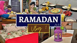First day of Ramadan 2021 from our new home | Getting ready | Chettinad Chicken Curry | Vlog 1
