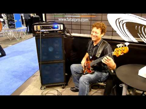 Bill Jenkins Sound's bass cabinets powered by FaitalPRO Loudspeakers - 1