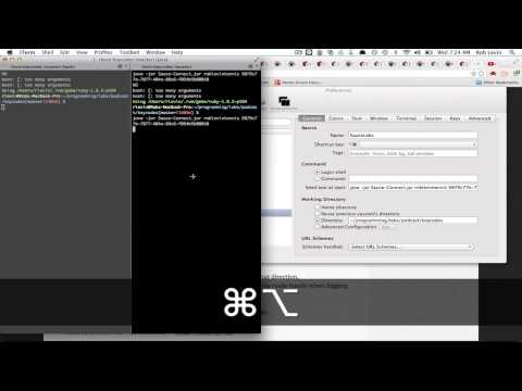 How to code: iterm2 Profiles and Window Arrangements - YouTube