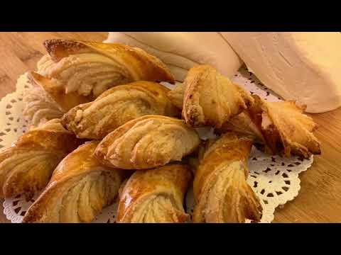 Слоёное тесто    Puff Pastry   Շերտավոր խմոր