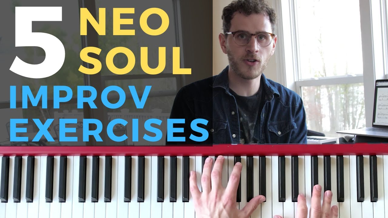 5 Dope Neo Soul Improv Exercises [Soul Piano Tutorial]