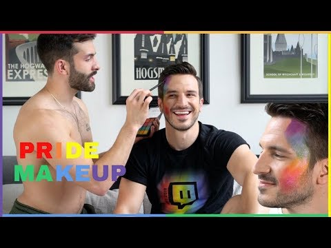 PRIDE Experience and Easy Rainbow Makeup