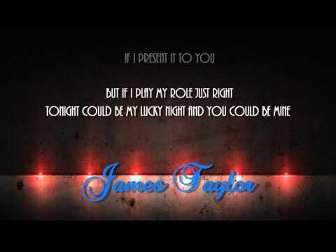 If I keep my heart out of sight + James Taylor + Lyrics/HD