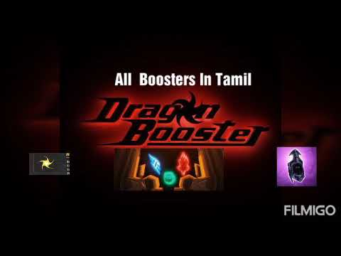 Dragon Booster All Boosters (Shadow,Energy,Power,Fire) Explain In Tamil - Fahim Raphael