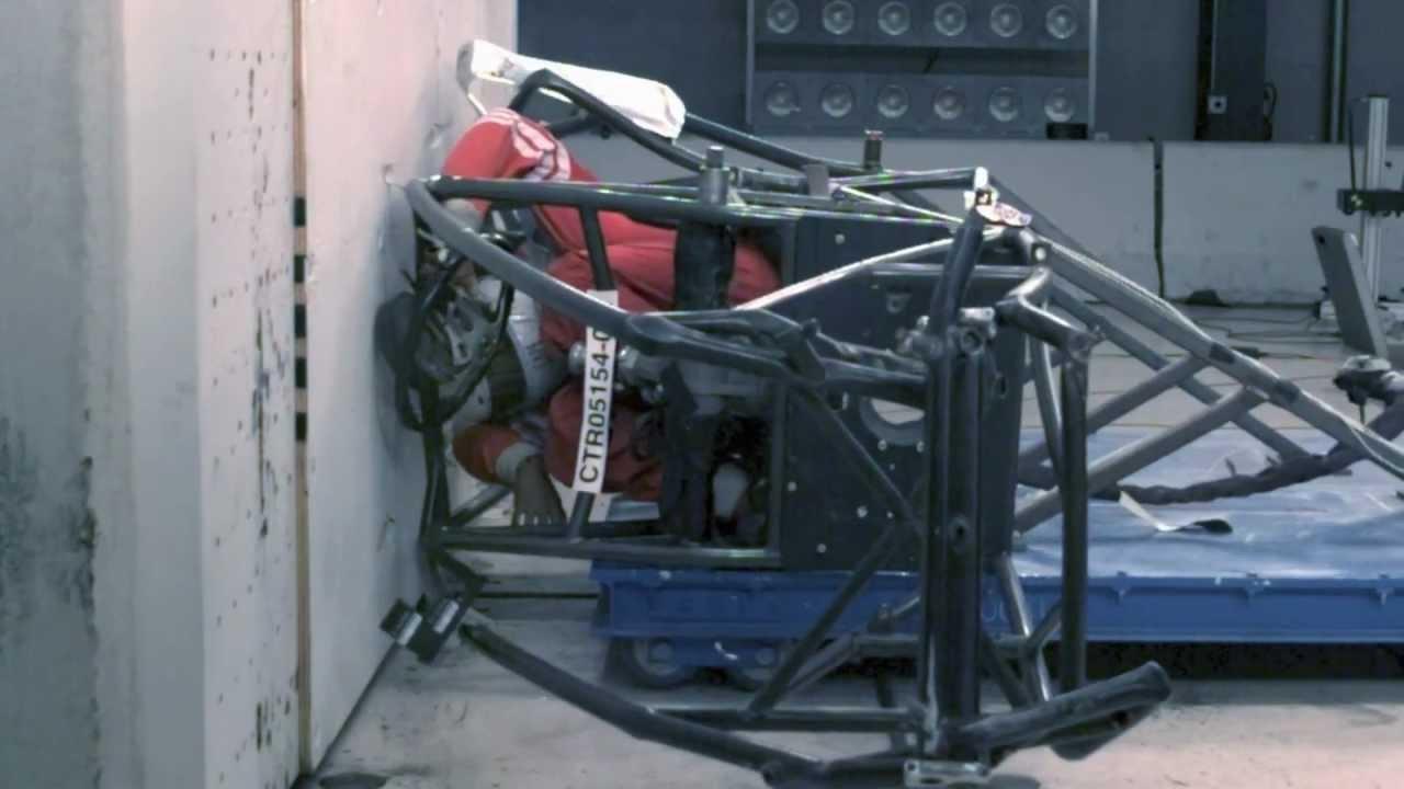 Sprint Car Crash Test