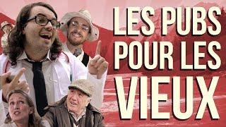 LES PUBS POUR LES VIEUX : L'ANALYSE de MisterJDay thumbnail