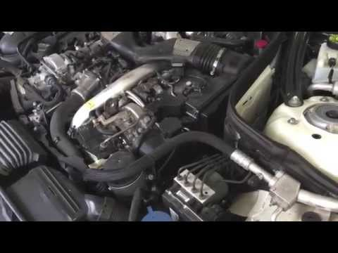 Mercedes Benz E Engine Noise