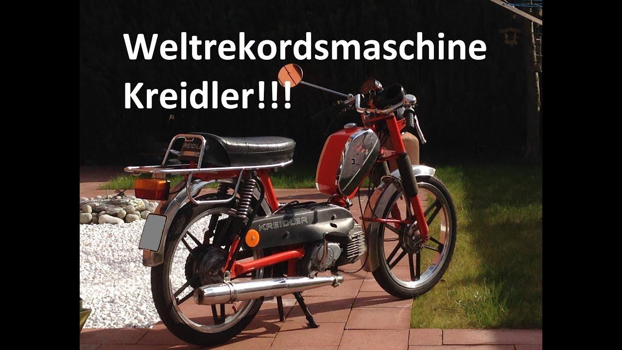 moped weltrekordsmaschine kreidler meine flory 3 gang. Black Bedroom Furniture Sets. Home Design Ideas