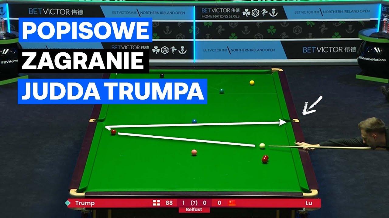 Ależ zagranie Judda Trumpa! Popis Anglika w Northern Ireland Open