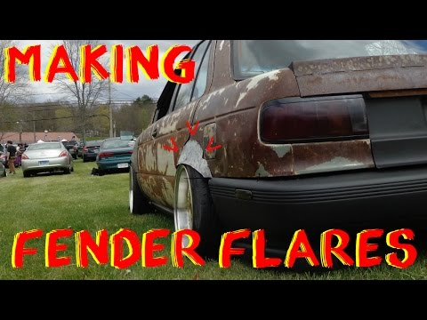 Making Fender Flares From Scratch