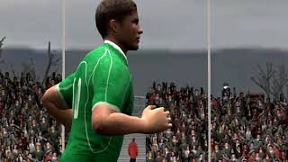 RUGBY 08 GAMEPLAY - IRELAND VS NEW ZEALAND