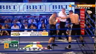 Orial Kolaj Vs Tomasz Adamek KnockOut Round 6 Full Fight 19.10.2012
