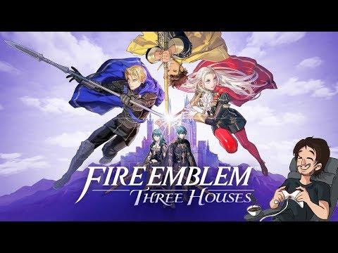 FIRE EMBLEM THREE HOUSES (CERFS/NG+/DIFFICLE) #9 : Activation du Super Sayan Blue !