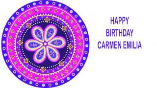 CarmenEmilia Indian Designs - Happy Birthday