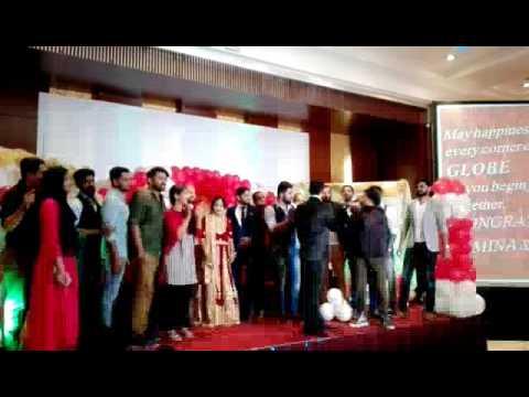 Sadiqu zacky singing with Arab singer(1)