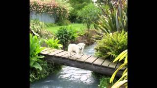 Small home garden bridge ideas.