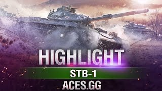 Самурай в деле! STB-1 в World of Tanks!
