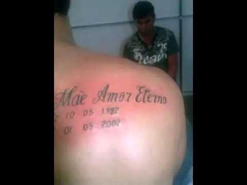 Tatuagem Em Homenagem A Minha Mãe Youtube