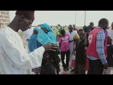 Nigeria displaced children reunited with families amid Boko Haram's reign of terror