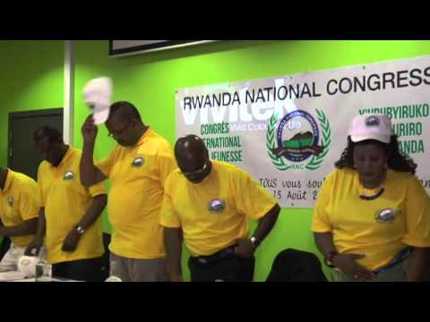 "Kongere y'urubyiruko Rwa RNC ""Rwanda National Congres"""