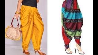 How to make latest designer dhoti harem ...