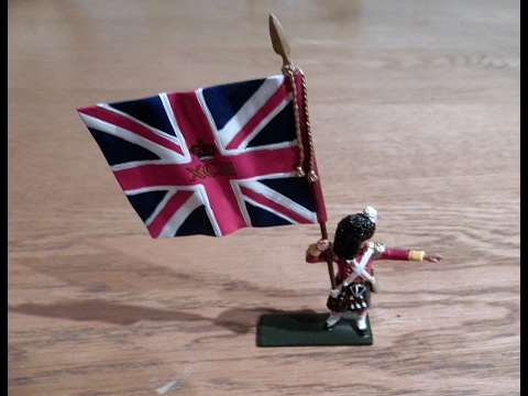 COLLECTABLE 93rd Sutherland Highlander Crimean War TOY SOLDIER REVIEW