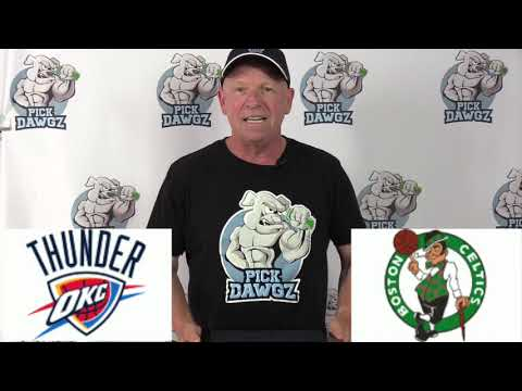 Boston Celtics vs Oklahoma City Thunder 7/24/20 Free NBA Pick and Prediction NBA Betting Tips