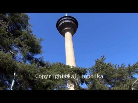 Finland's highest observation tower- Näsinneula Tampere Finland