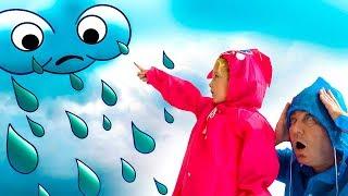 Rain, Rain, Go Away Milusik and Papa want to have fun