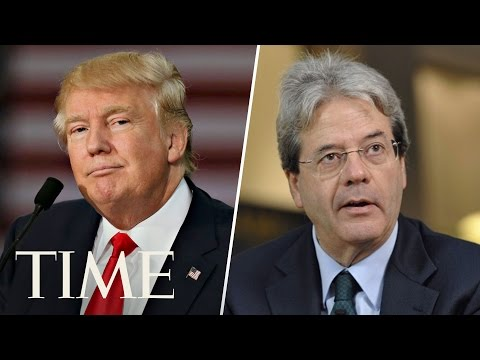 President Trump Gives Joint Presser With Italian Prime Minister Paolo Gentiloni | TIME