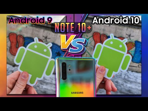 📷 Galaxy Note 10+ КАМЕРА ТЕСТ Android 9 VS Android 10