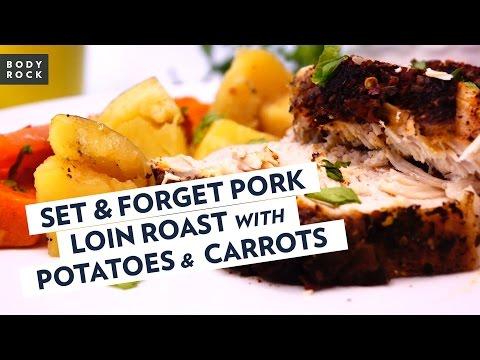 Pork Tenderloin Roast Recipe - Set It And Forget It!