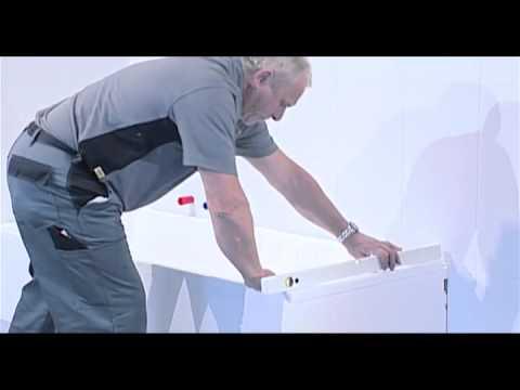 film d 39 installation receveurs de douche poresta youtube. Black Bedroom Furniture Sets. Home Design Ideas