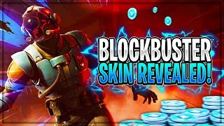 *NEW* BLOCKBUSTER SKIN OFFICIALLY REVEALED! (Blockbuster Challenge LEAKED) - Fortnite: Battle Royale